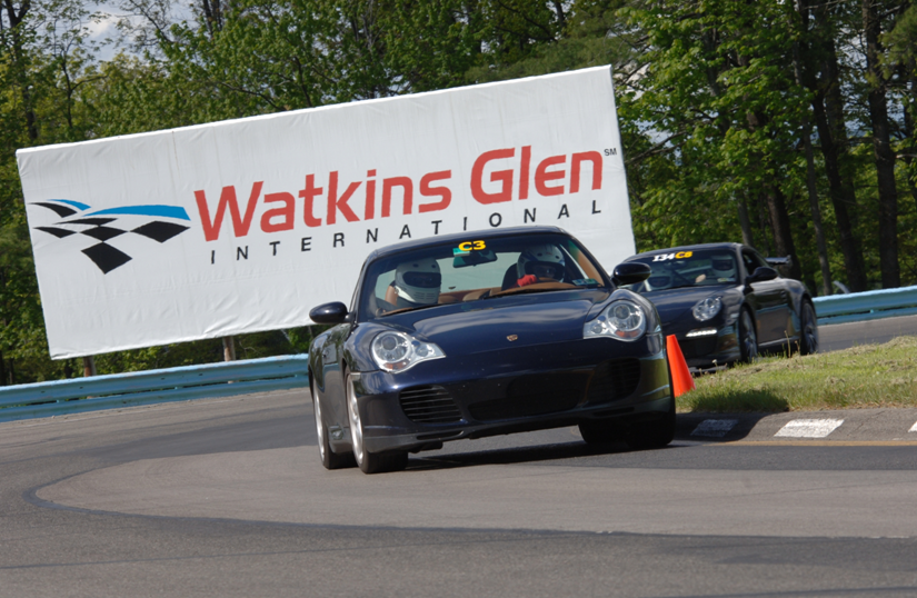 Running at Watkins Glen with ARPCA