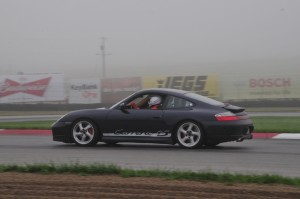 Running in the Fog at Mid-Ohio