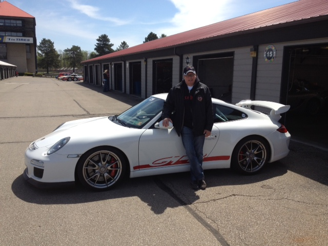 Ralph Gaudio with his GT3